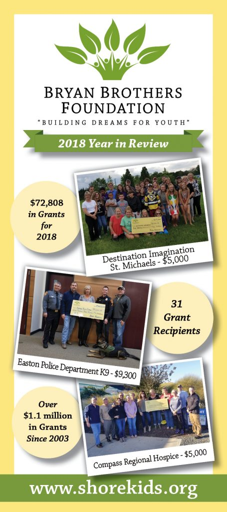 2019 Bryan Brothers Foundation Annual Report