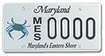 Maryland's Eastern Shore Blue Crab Plates