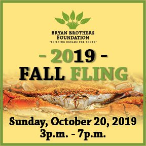 Bryan Brothers Foundation Fall Fling 2019
